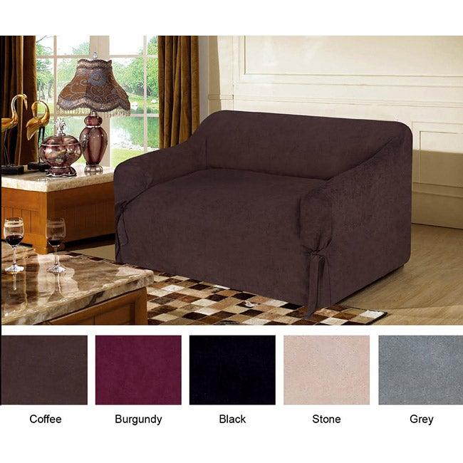 Fashion Street Microfiber Sofa Cover