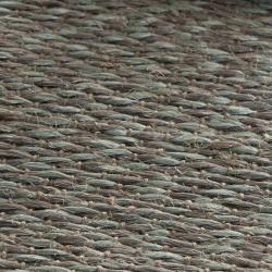 Safavieh Handwoven Doubleweave Sea Grass Teal Rug (8' x 10')