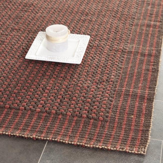 Safavieh Handwoven Loop Jute Brown Rug (8' x 10')