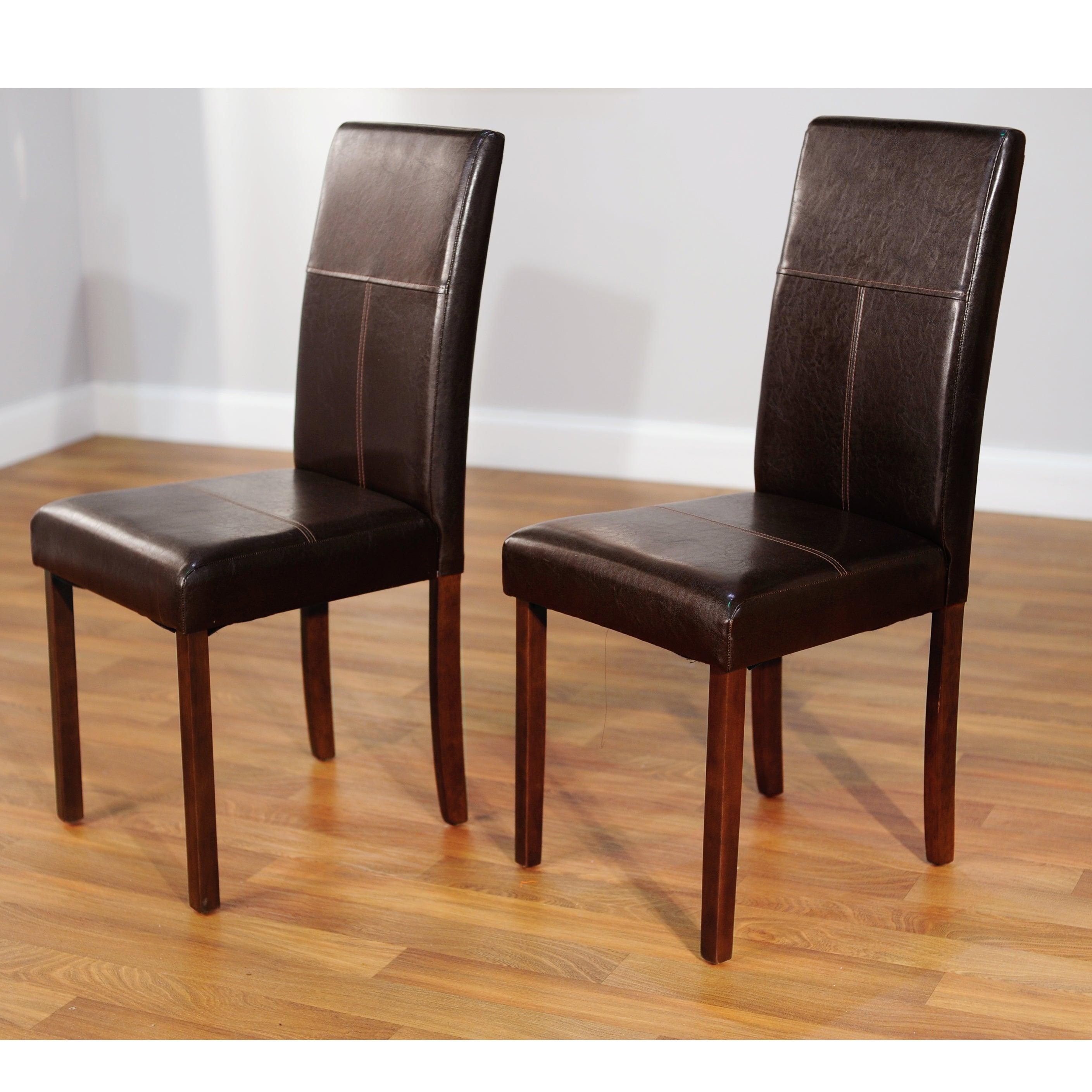 Simple Living Bettega Parson Chair (Set of 2)
