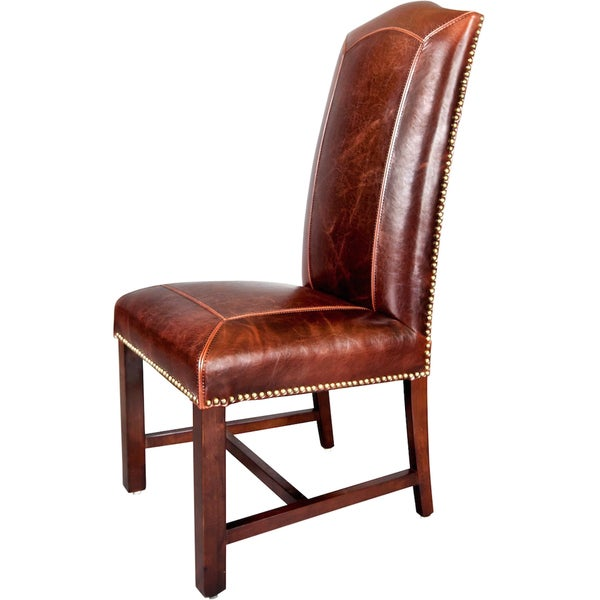 Monroe Leather Dining Chairs (Set of 2)