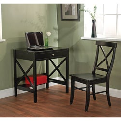 Simple Living 2pc X-Desk Set