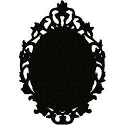 Instant Chalkboard Victorian Picture Frame Sticker