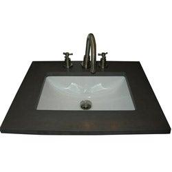 Somette Ceramic Undermount Sink