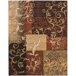 Safavieh Timeless Fashion Scrolls Extra Fine Rust Rug (8' x 10')