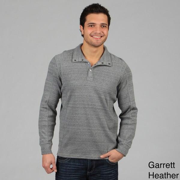 Calvin Klein Men's Button Collar Knit Sweater
