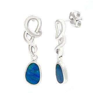 Pearlz Ocean Boulder Opal Dangle Earrings