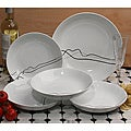 Lorren Home 5-Piece Porcelain Pasta Set