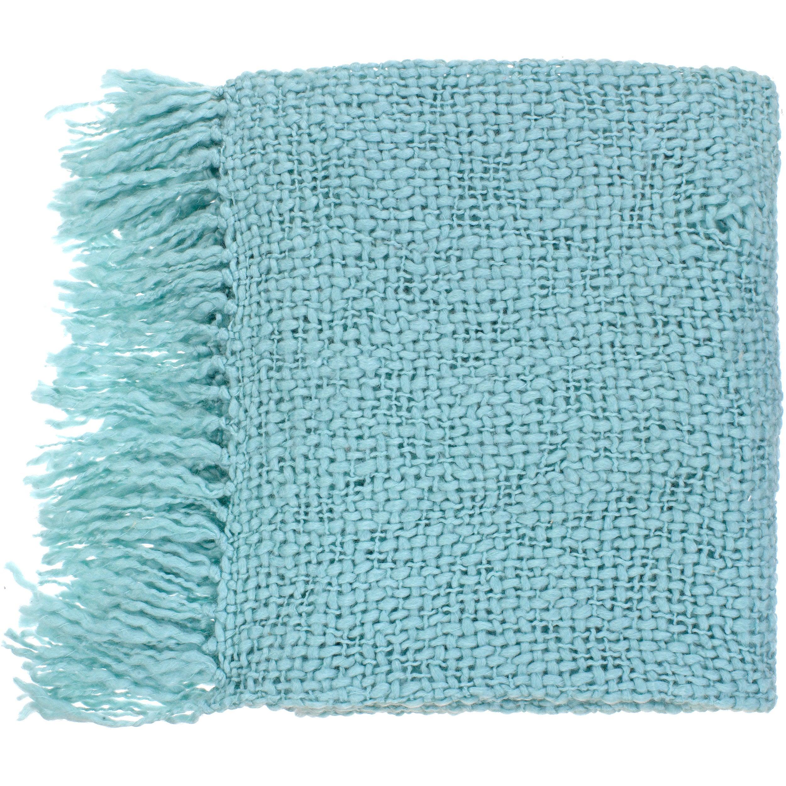 Woven Wake Acrylic and Wool Throw Blanket