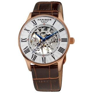 Akribos XXIV Slim Men's Mechanical Watch