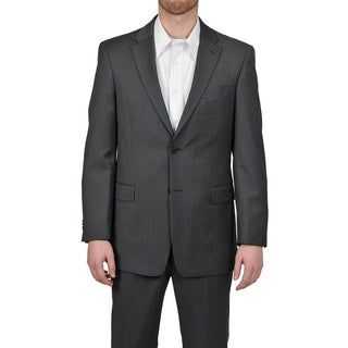 Tommy Hilfiger Men's Trim Fit Gray Slim Stripe Jacket
