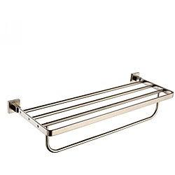 Kraus Aura Bathroom Accessory - Towel Rack/ Bar - Brushed Nickel