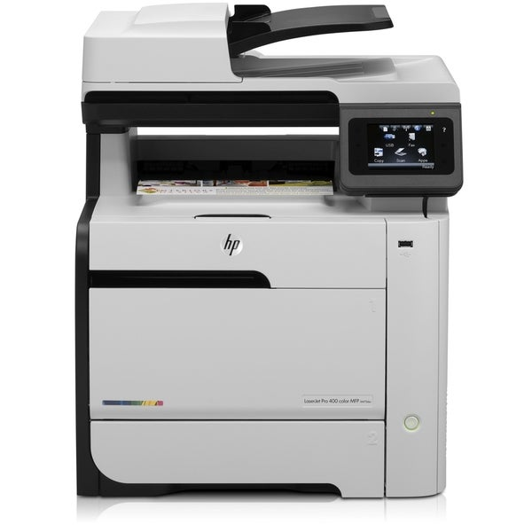 HP LaserJet Pro M475 M475DW Laser Multifunction Printer - Color - Pla