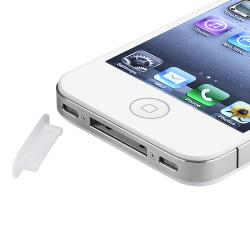 INSTEN Clear Plug Docking Port Cap for Apple iPad, iPod, and iPhone