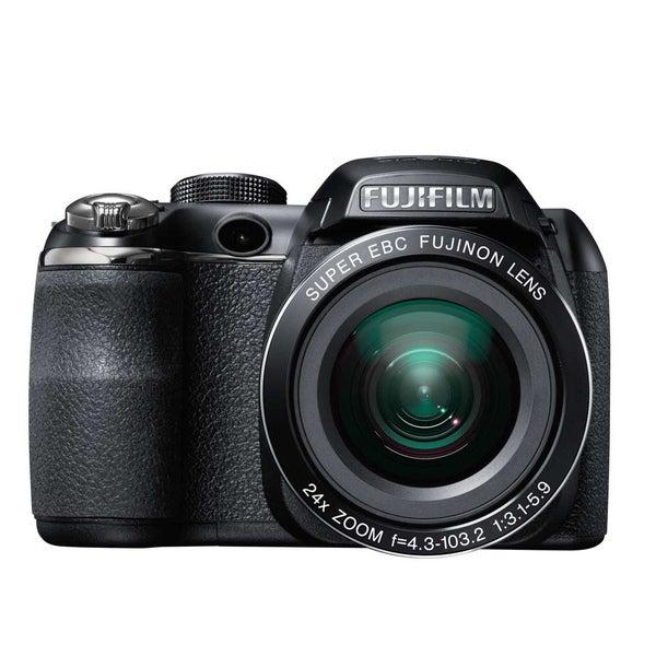 Fujifilm FinePix S4200 14MP Black Digital Camera