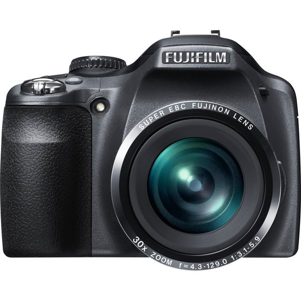 Fujifilm FinePix SL300 14 Megapixel Bridge Camera - Black