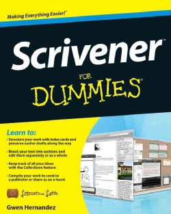 Scrivener For Dummies (Paperback)