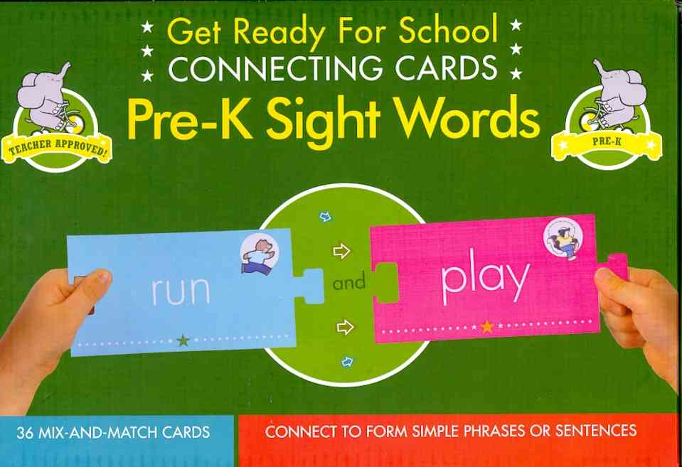 Connecting Cards Pre-K Sight Works (Cards)