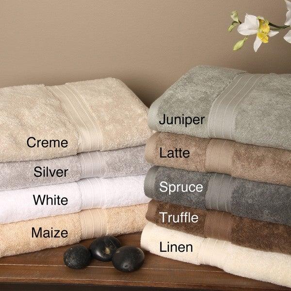 Signature Luxury Egyptian Cotton Bath Sheet (Set of 2)