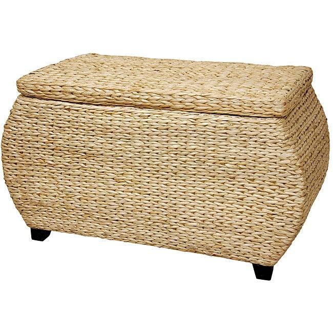 Wood Rush Grass Storage Box (China)