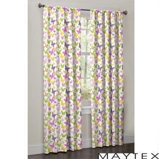 Maytex Isabel Window 84-inch Curtain Set (2 panels)