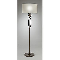 Aztec Lighting Contemporary 1-light Brushed Antique Bronze Floor Lam