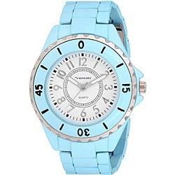 Vernier Women's 'V11027' Light Blue Watch
