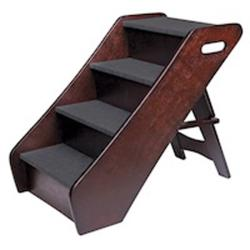 Animal Planet Espresso-finish Wood Pet Stair-step Ladder with Handles