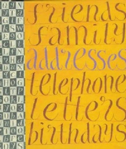 A Literary Address Book (Address book)