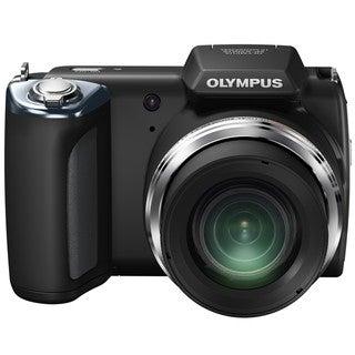 Olympus SP-620UZ 16MP Black Digital Camera