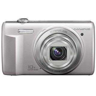 Olympus VR-340 16MP Silver Digital Camera