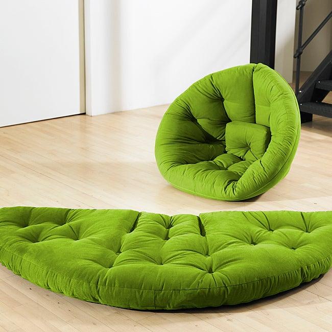 Lime Green Fresh Futon Nest