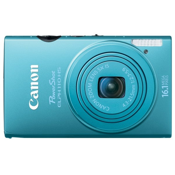 Canon PowerShot ELPH 110HS 16.1MP Blue Digital Camera