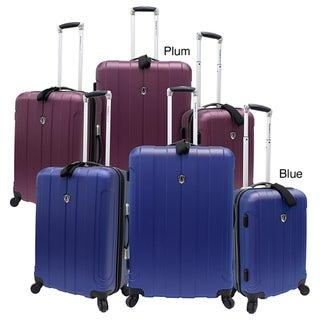 Traveler's Choice Cambridge 3-piece Hardside Spinner Luggage Set