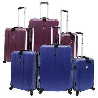 Traveler's Choice TC3800 Cambridge 3-piece Hardside Spinner Luggage Set