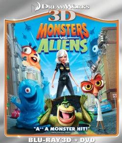Monsters Vs. Aliens 3D (Blu-ray/DVD)