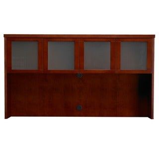 Mayline Mira Series Hutch with Glass Doors (70 inches)