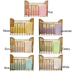 ABC Cotton Percale 3-piece Porta-Crib Bedding Set
