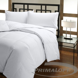 PrimaLoft 500 Thread Count Tencel-Cotton Down Alternative Comforter