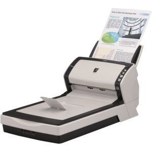 Fujitsu fi-6240Z Flatbed Scanner - 600 dpi Optical