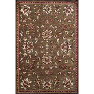 Madison Brown/ Rust Rug (5' 3 x 7' 7)