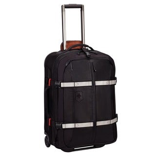 Victorinox Swiss Army CH-97 2.0 Black Expandable 25-Inch Rolling Upright Suitcase