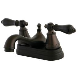 Oil Rubbed Bronze Bathroom Faucet