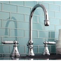 Chrome Widespread Bathroom Faucet