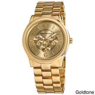 Vernier Women's Round Chrono Look Bracelet Watch