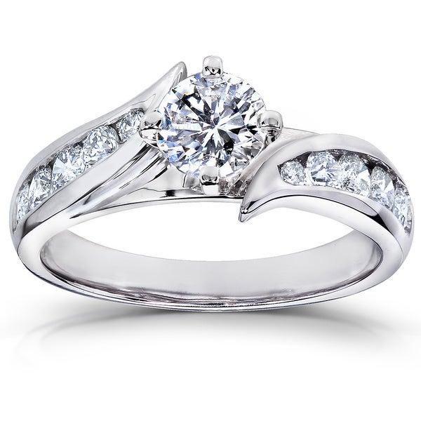 Annello 14k Gold 1ct TDW Diamond Engagement Ring (H-I, I1-I2)