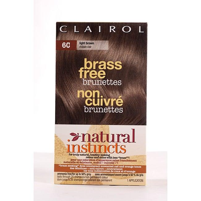 Natural Instincts Brass Free Light Brown
