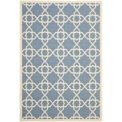 Safavieh Blue/Beige Indoor/Outdoor Area Rug (9' x 12')