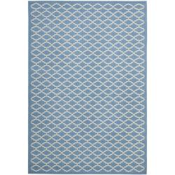Safavieh Blue/Beige Indoor/Outdoor R