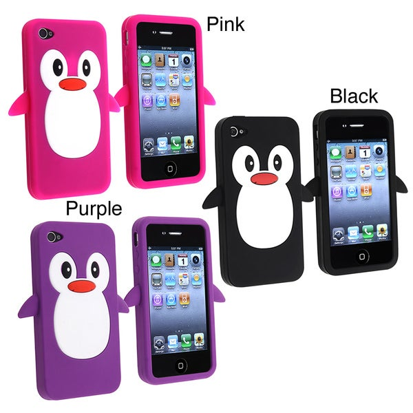 Penguin Silicone Skin Case for Apple iPhone 4/ 4S